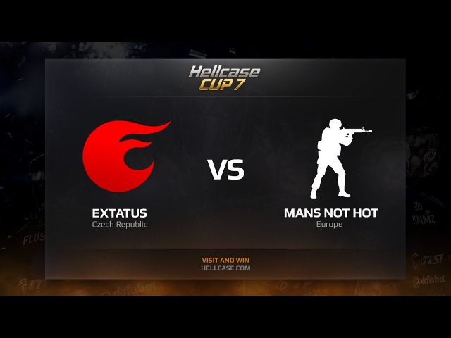 EXtatus vs MANS NOT HOT HellCase Cup Season 7