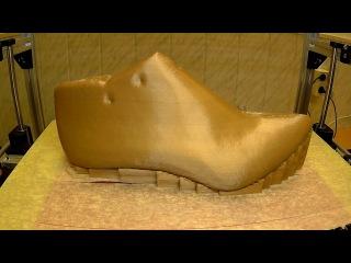 Обувная колодка на 3D принтере