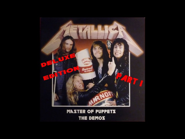 Metallica Master of Puppets Riff Tapes Demos part 1