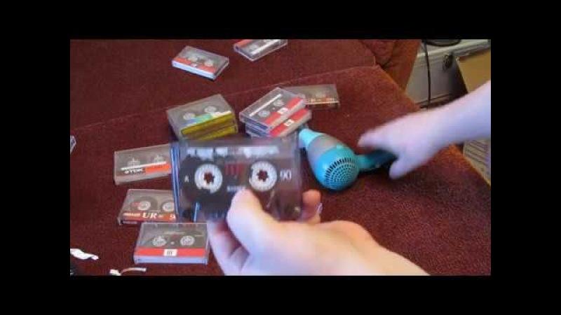 Аудиокассеты - возвращаем нормальный вид.