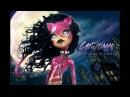 Doll Figurine DC CATWOMAN Super Hero Villain Monster High Ooak Doll Reapaint