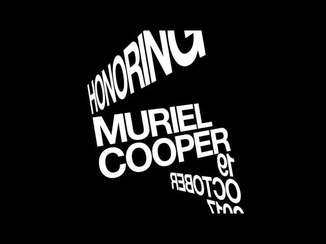 Muriel Cooper Visual Language Workshop
