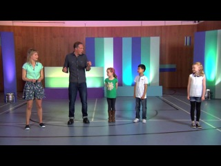 Ollie from 'Beat Goes On' teaches a 2nd Body Percussion routine on CBeebies' 'Let's Go Club!'