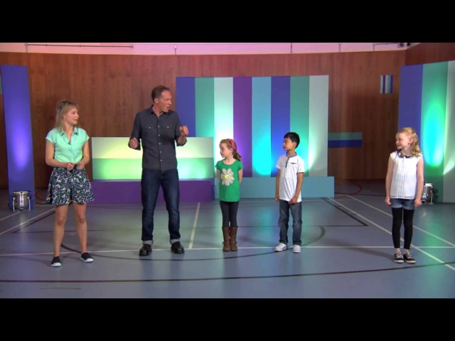 Ollie from Beat Goes On teaches a 2nd Body Percussion routine on CBeebies Lets Go Club!