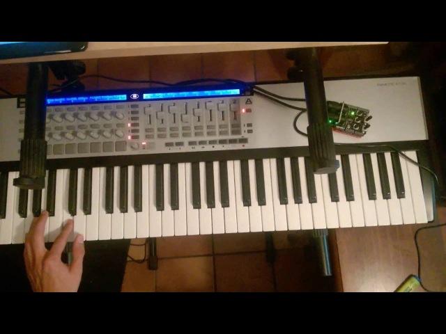 Arduino MIDI to BLE-MIDI (MIDI over Bluetooth Low Energy)