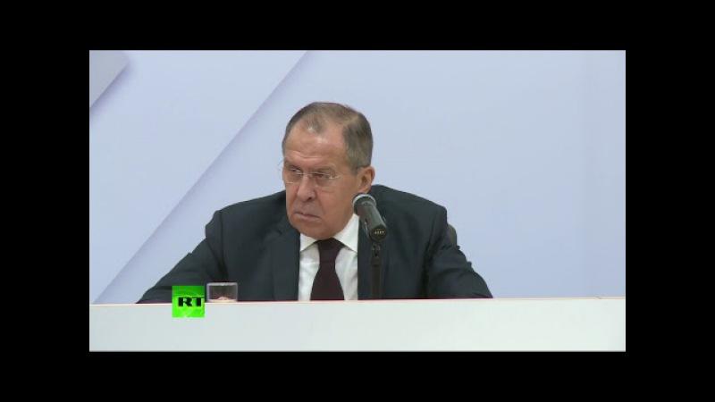 Пресс подход Сергея Лаврова по итогам третьего пленарного заседания СМИД ОБСЕ