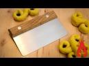 Making a dough cutter scraper