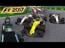 Долгожданная F1 2017 Гран-при Австралии - розовая сила - руль Fanatec ClubSport Formula Black