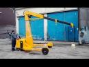 Самоходный электрогидравлический кран 1500 кг ЭГК