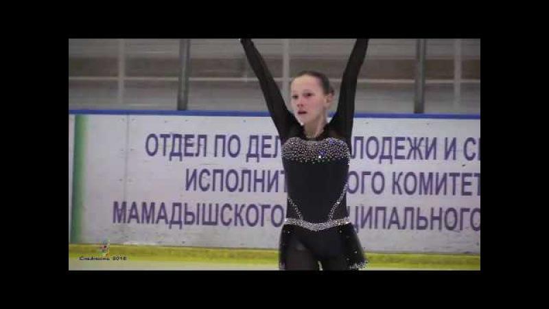 Снежность 2018 ФазуллинаКарина, 1 спортивный, Произвольная программа, Набережные Челны AxelHD