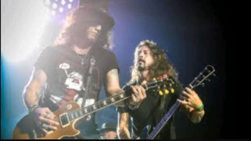 Guns N' Roses Dave Grohl - Paradise City | Live In Tulsa, Oklahoma 2017