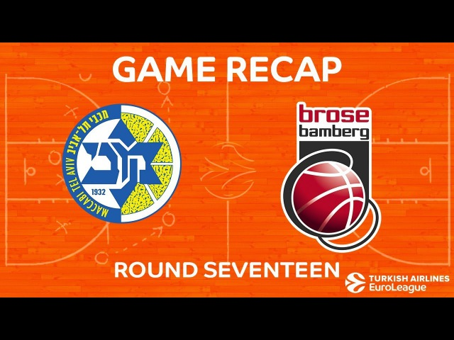 Highlights Maccabi FOX Tel Aviv Brose Bamberg