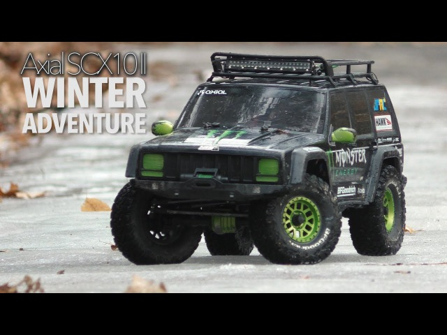 JPRC Axial SCX10 II Winter Adventure Vlog2 (Cantonese)