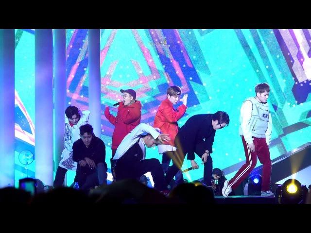 [4K CAM] 171216 현대 모터스튜디오 고양 'Shall We Dance' - 블락비 (full shot)
