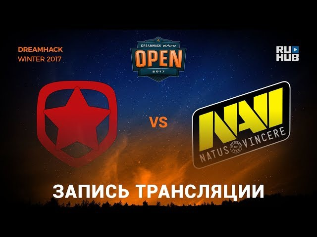Gambit vs Na'Vi - Dreamhack Winter 2017 - de_inferno [yXo, Enkanis]