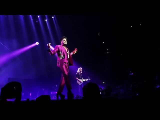 QUEEN Adam Lambert - Dont Stop Me Now, Bicycle Race, Manchester, 9.12.2017