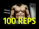 100 REPS PUSH UPS HANDSTAND ! IS IT POSSIBLE?!