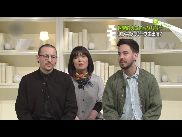 Linkin Park - Nippon TV's News Zero (Interview and Performance, 2017, Tokyo, Japan)