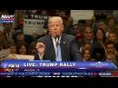 BUILD THAT WALL! Donald Trump Chants After Major Endorsement
