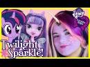 My Little Pony Twilight Sparkle Makeup Tutorial!  Equestria Girl Doll Cosplay | Kittiesmama