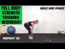 TOTAL BODY STRENGTH TRAINING INTERVAL WORKOUT, AT HOME WORKOUT WITH WEIGHTS, FOR WOMEN, FOR MEN