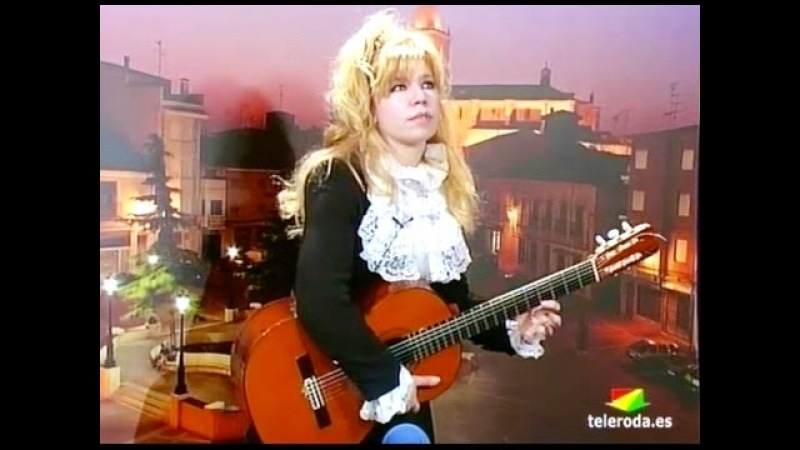 LEFT HAND SOLO - Galina Vale playing live on Spanish TV