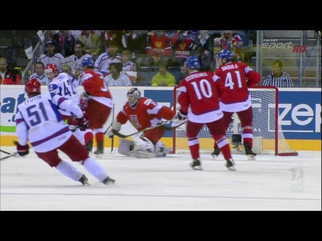 Чемпионат мира по хоккею 2011 Россия Чехия 9 игра Матч за 3 место