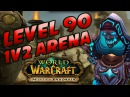 LEVEL 90 1V2 ARENAS IN MISTS OF PANDARIA FROST MAGE PVP CARTOONZ HOTTED89