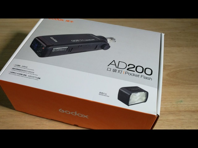 Godox AD200 Unboxing The newest portable lighting for Photographers