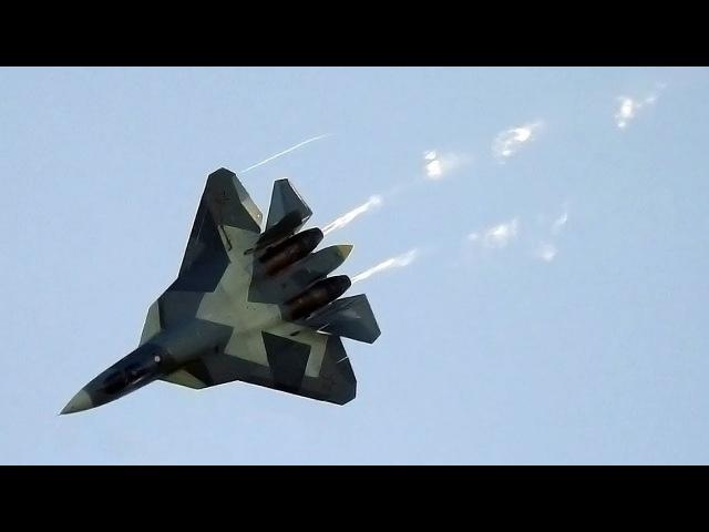 Су 57 СБРОС ТОПЛИВА с дренажа в полёте Высший пилотаж российских летчиков ПАК ФА Т 50
