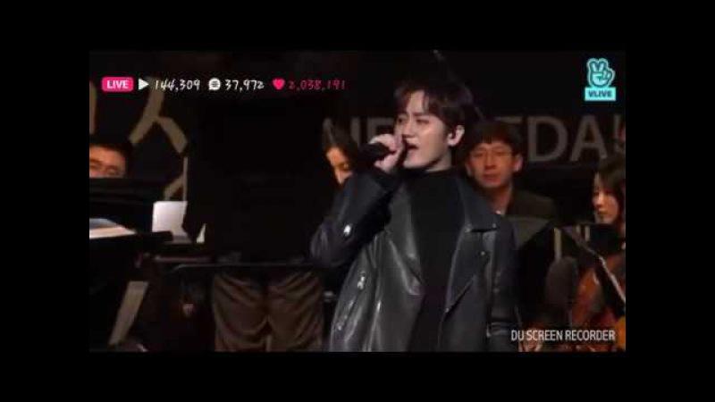 Heo Young Saeng 허영생 (SS501) at Edaily Cultural Award 2018