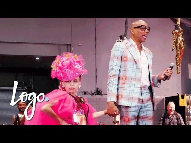 RuPaul Meets Desmond Is Amazing | RuPauls DragCon NYC 2017