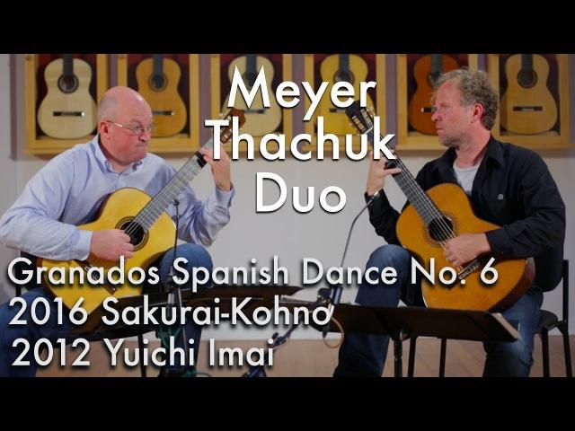 Granados Spanish Dance No. 6 - Meyer Thachuk Duo play Sakurai-Kohno and Imai