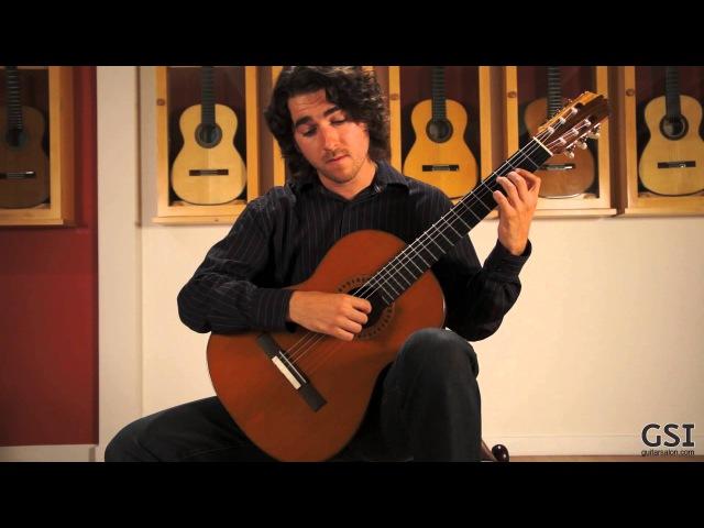 Sor study in b minor played by Taso Comanescu