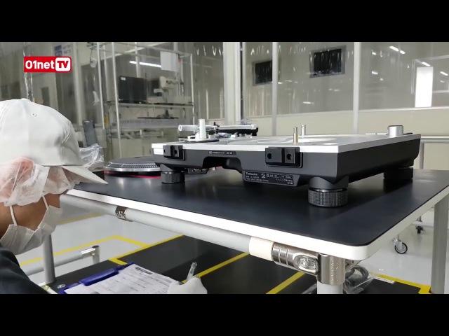 Linha de produção Technics SL1200 GGR Next Sound Brazil