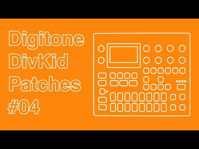 Elektron Digitone DivKid Patches 04 - Rich FM Chords
