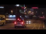 Спасение лебедя на эстакадном мосту. Калининград