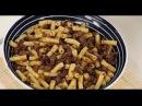 Макароны по-флотски с фаршем из жареной говядины рецепт от шеф-повара / Илья Лазе