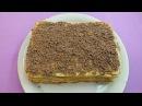 Торт вафельный простой не приторный и хрустящий Объедение