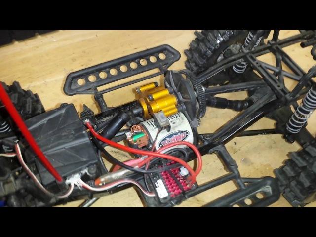 Axial scx10 Rubicon dingo (hardbody)