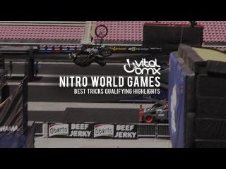 Best Tricks Qualifying Nitro World // insidebmx