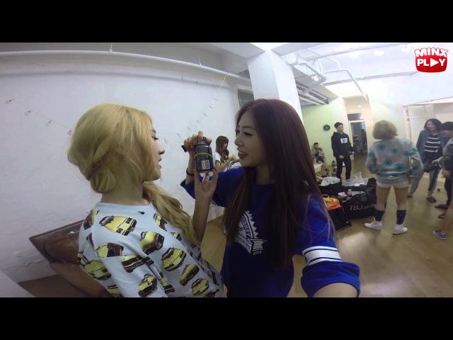 밍스 플레이 지유 커피 마시기 도전 Minx Play Ji U's Coffee Drinking Challenge