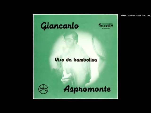 Giancarlo Aspromonte Non ricordo ma piangendo