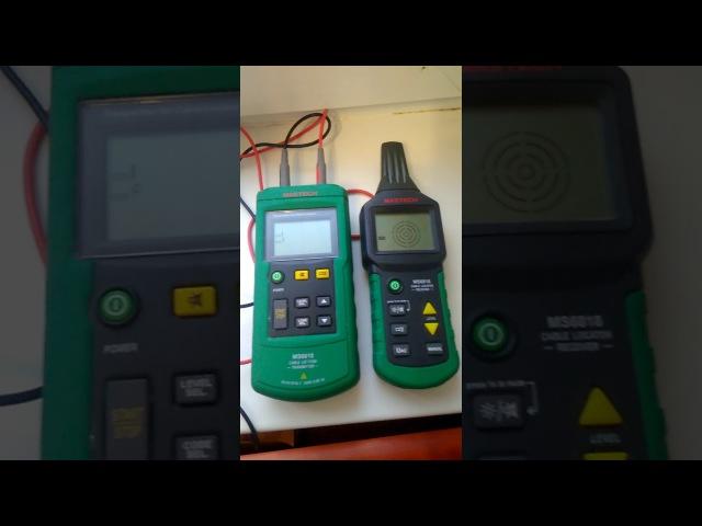 Видеообзор детектора скрытой проводки Mastech MS6818