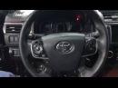 У Тойота Камри есть штатная шумоизоляция, но лишь частичная и даже несколько фор...