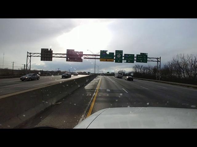 Дальнобой США Ужасная авария в Огайо ! Замешано более 20 машин