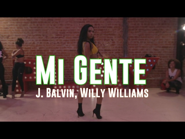 Mi Gente | J Balvin Willy Williams | Choreography by Aliya Janell | Filmed by @TheTallieB
