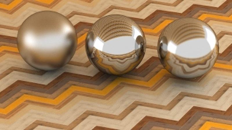 3ds Max Vray Realistic Steel - Chrome Polish - Chrome Satin Material