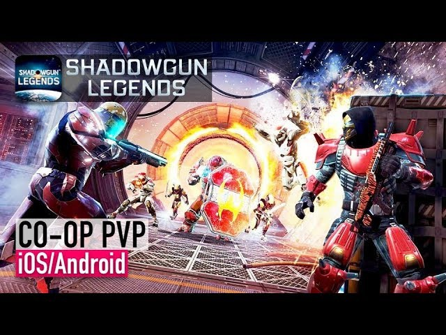 Shadowgun Legends - iOS / Android - CO-OP PVP GAMEPLAY