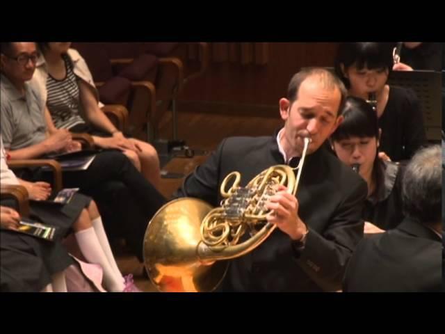 F.Hidas: Horn Concerto No.3. 2.part Szabolcs Zempléni - Horn
